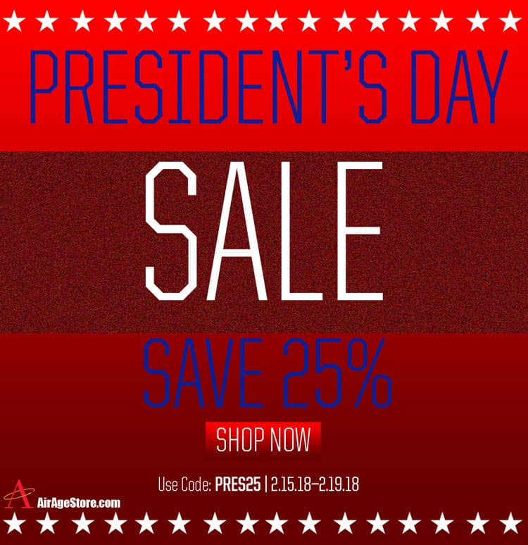 Read Up on R/C with AirAge's President's Day Sale