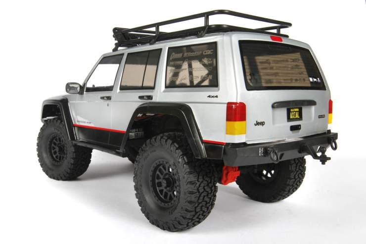 Axial Jeep Cherokee Body Rear