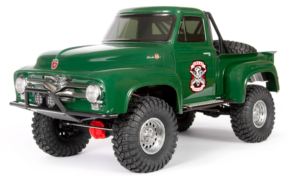 A Throwback for the Trail: Axial's SCX10 II 1955 Ford F-100