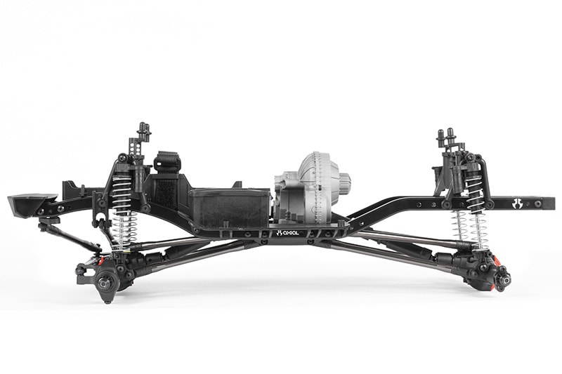 Axial SCX10 II Raw Builder's Kit - Side