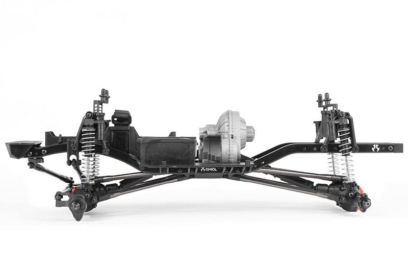 Axial SCX10 II Raw Builder's Kit - Side