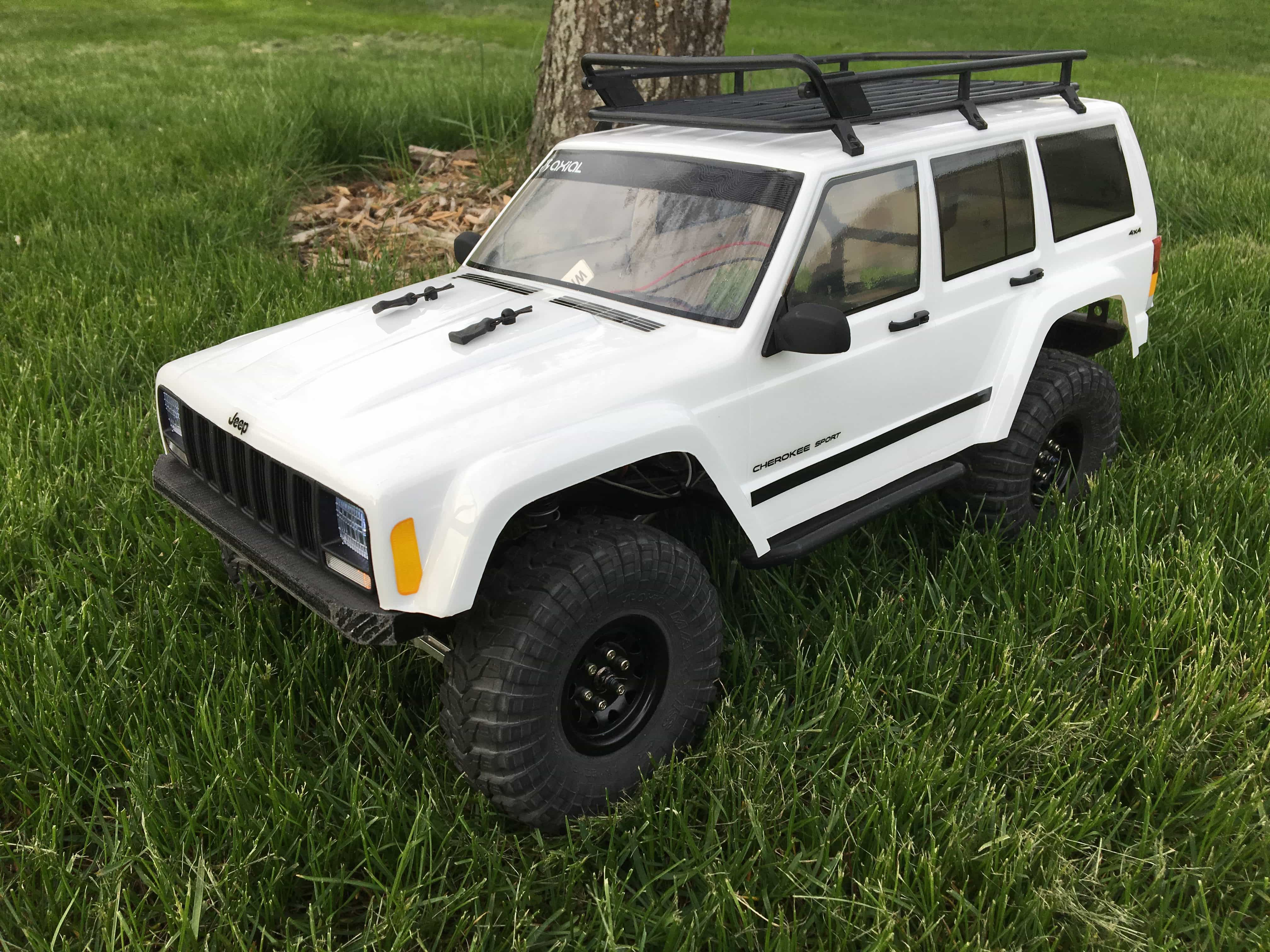 """R/C Overhaul –  Upgrading an Axial SCX10 """"Classic"""""""