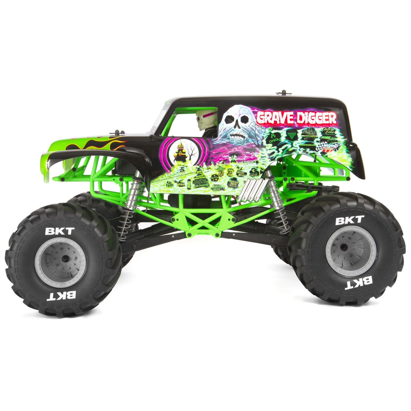 Axial SMT10 Grave Digger RTR Monster Truck - Side
