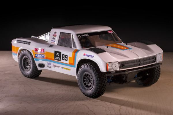 Axial Yeti SCORE Trophy Truck Clear Retro Body(AX31310)