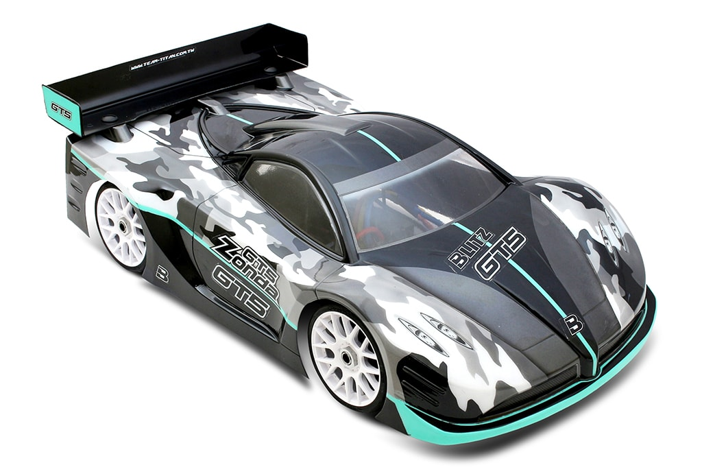 Blitz 1/8-scale GT5 Zonda Touring Car Body