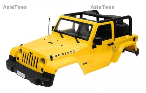 Boom Racing Releases Two New 1/10 Jeep Wrangler Hardbodies
