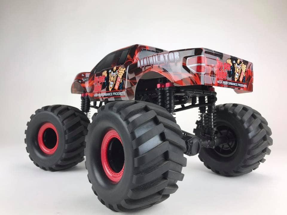 CEN Racing HL150 Monster Truck - Rear