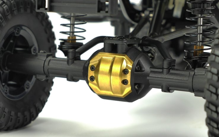 New Brass Upgrade Options from Carisma | RC Newb