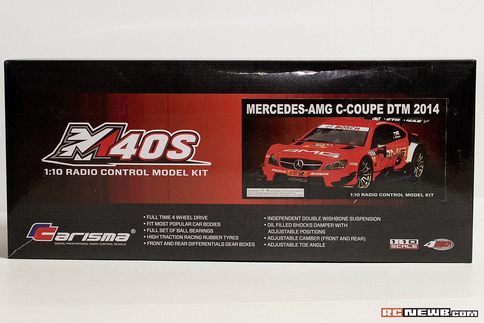 Carisma M40S Kit Build - 1