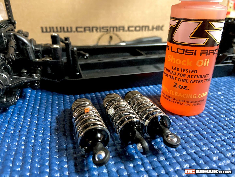 Carisma M40S Kit Build - 11