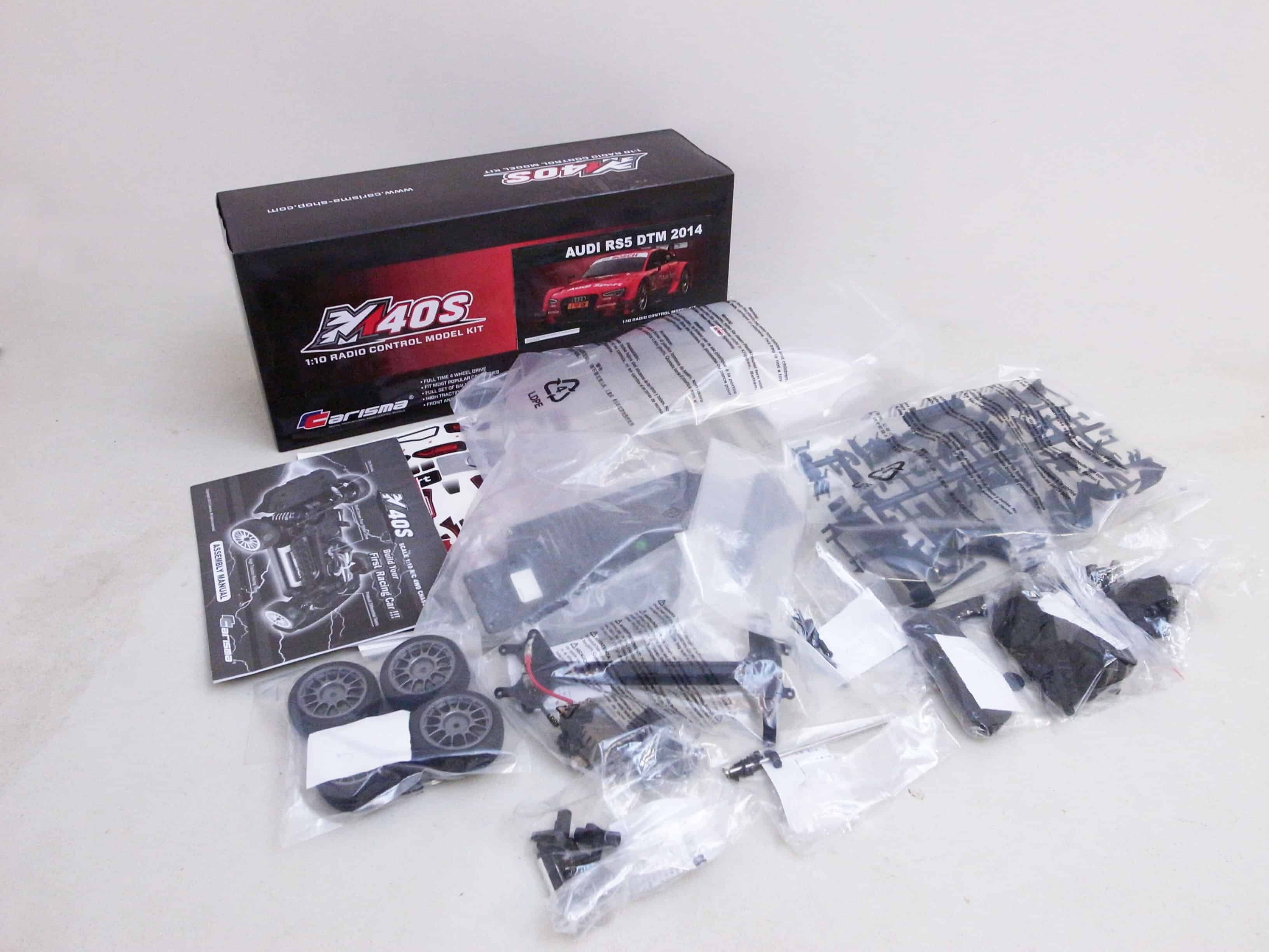 Carisma M40S Kit - What's In the Box