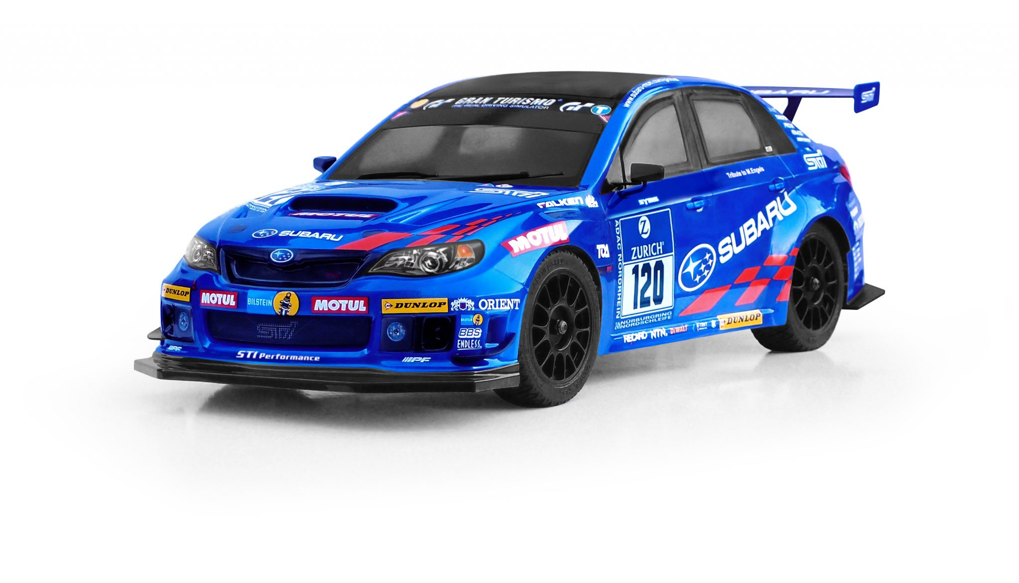 A Subaru WRX with Carisma
