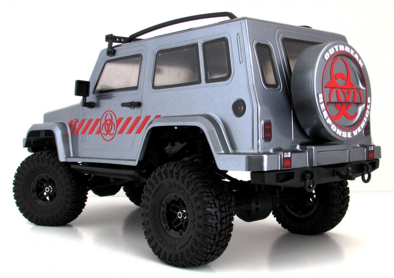 Carisma Scale Adventure LYNX ORV - Rear Studio