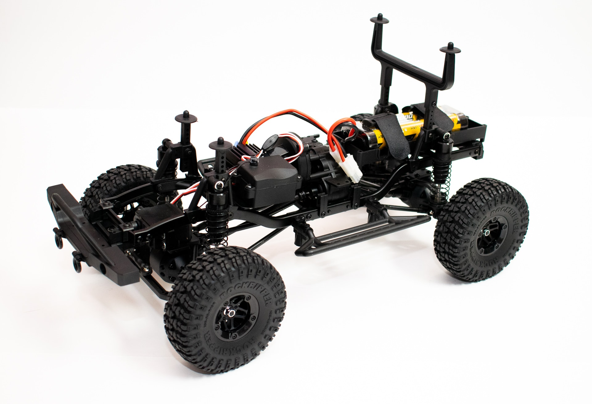 Carisma Scale Adventure Lynx - Chassis Side Front