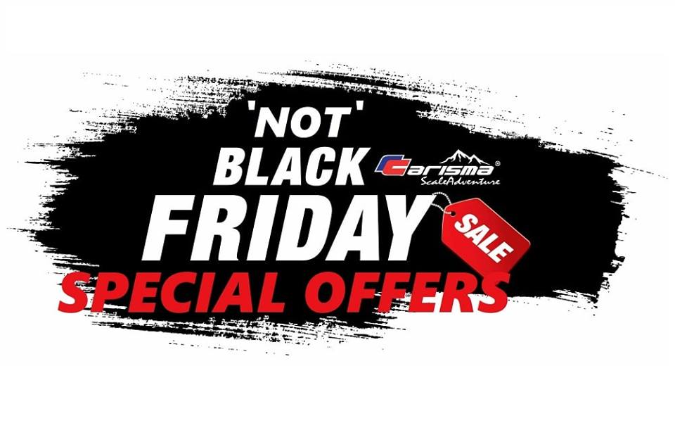 Hit the Trail with Carisma's 'Not' Black Friday Sale