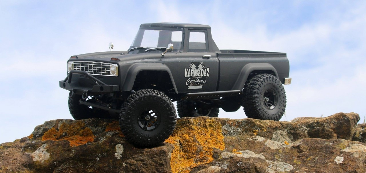 "Carisma Scale Adventure's SCA-1E ""Coyote"" RTR Trail Truck"
