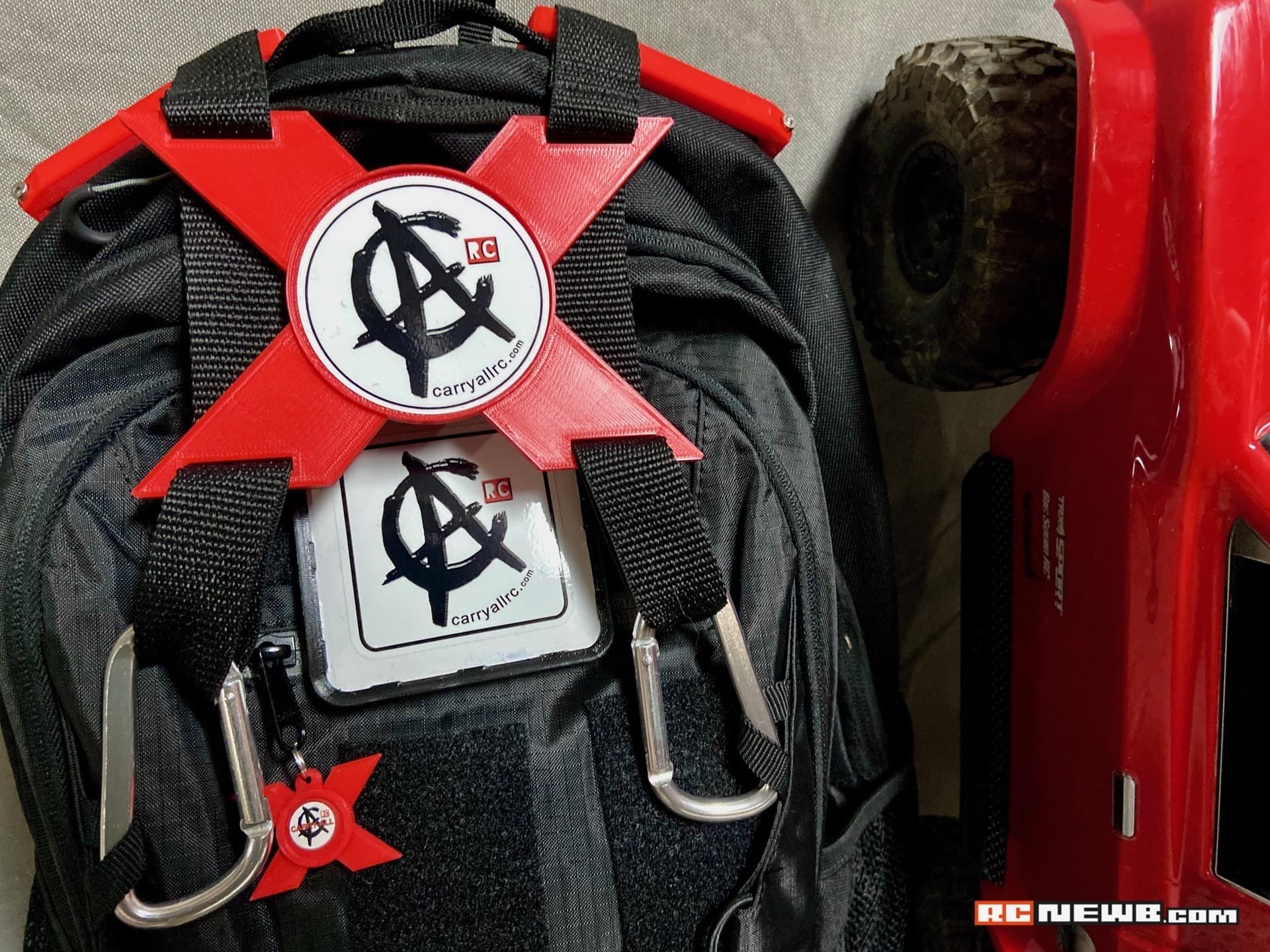What's in the Bag? First Impressions of CarryAll RC's Trail-ready X-TRA RC Backpack