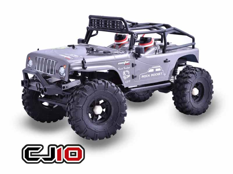 Caster Racing's CJ10-16-RTR 1/10 Jeep Rock Rocket