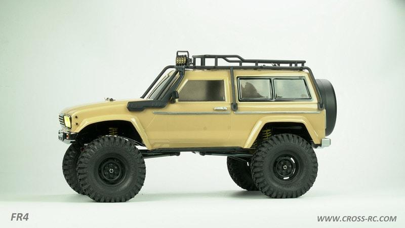 Cross RC FR4 Crawler Kit - FR4C - Side