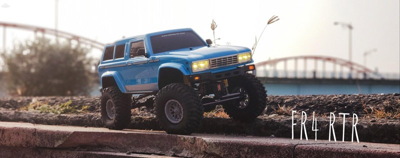 Cross RC's Wicked New Release: The FR4 Demon RTR Trail Truck