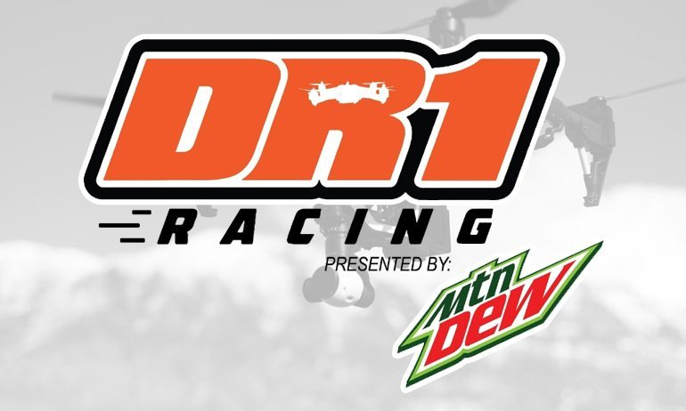 The DR1 Drone Racing Invitational Gains Mtn Dew as Title Sponsor