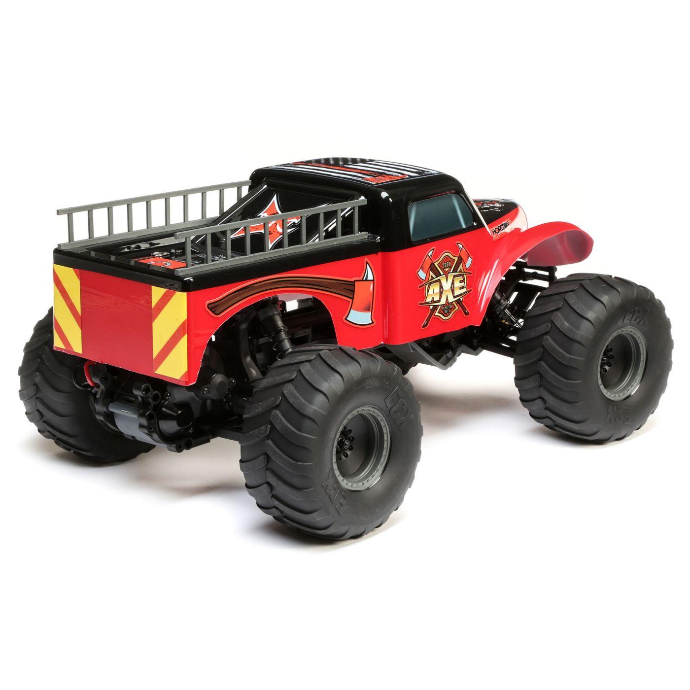 ECX Axe Monster Truck - Rear