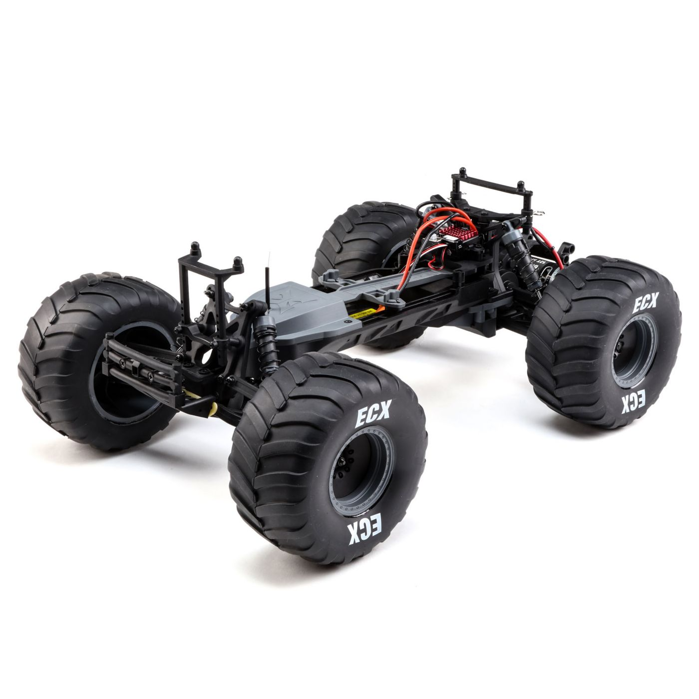 ECX Brutus 2WD Monster Truck - Chassis