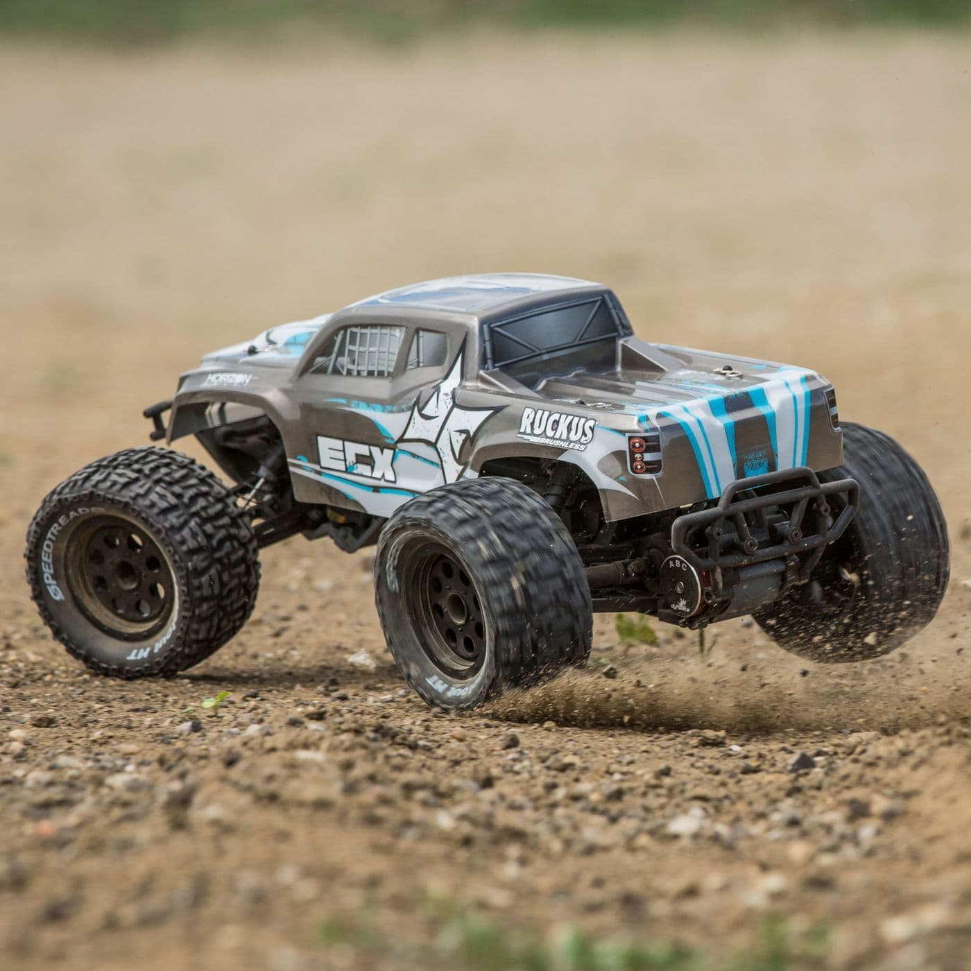 ECX Ruckus RC Monster Truck - Off-road