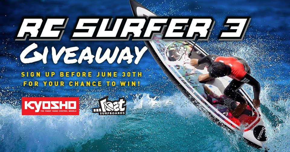Enter to Win a Kyosho RC Surfer 3 from AMain Performance Hobbies