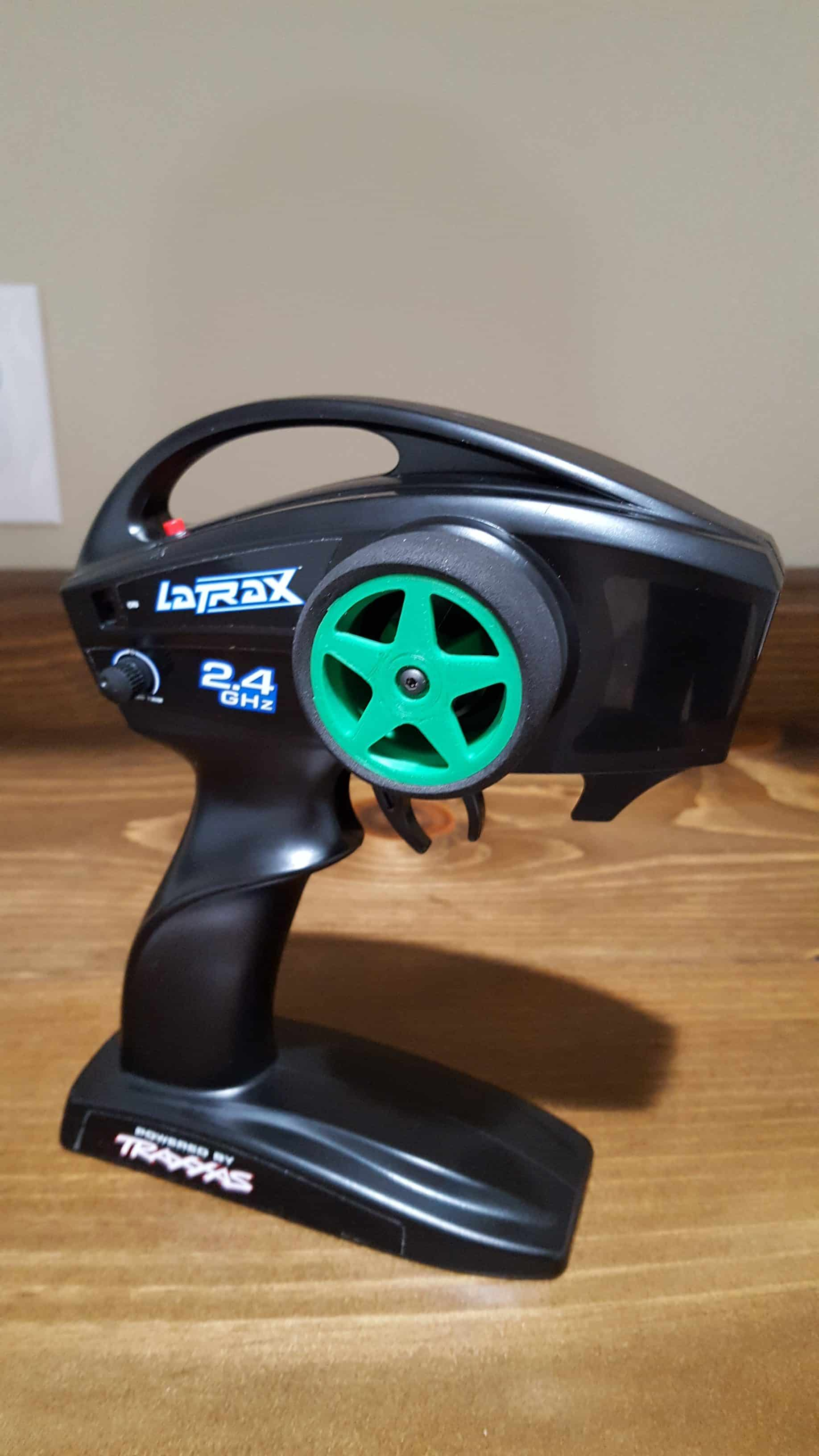 Expansion RC Custom Traxxas TQ Steering Wheel - Green