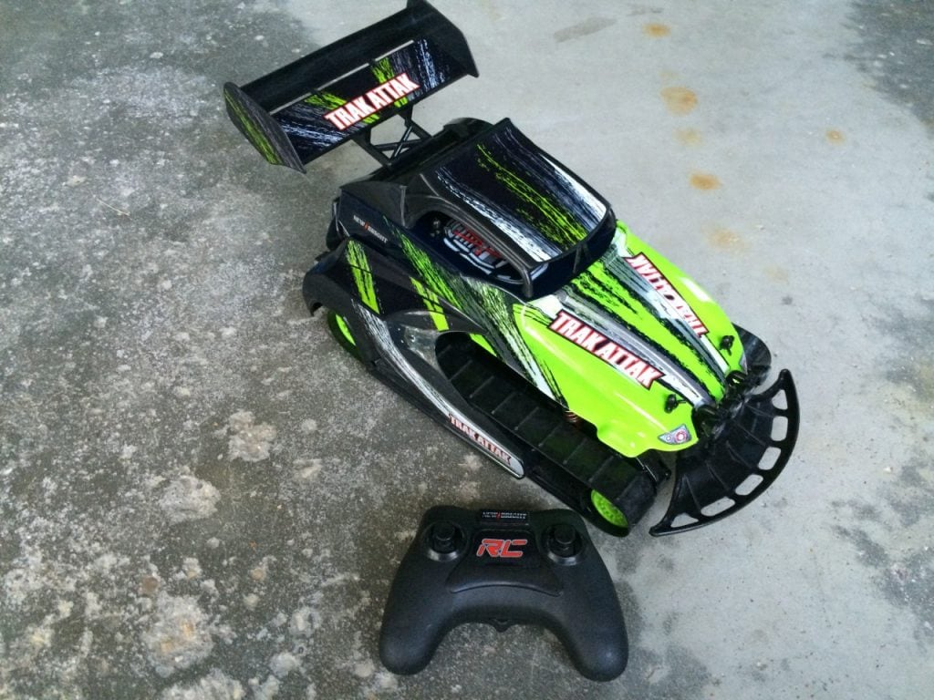 New Bright Trak Attak Radio-Controlled Vehicle