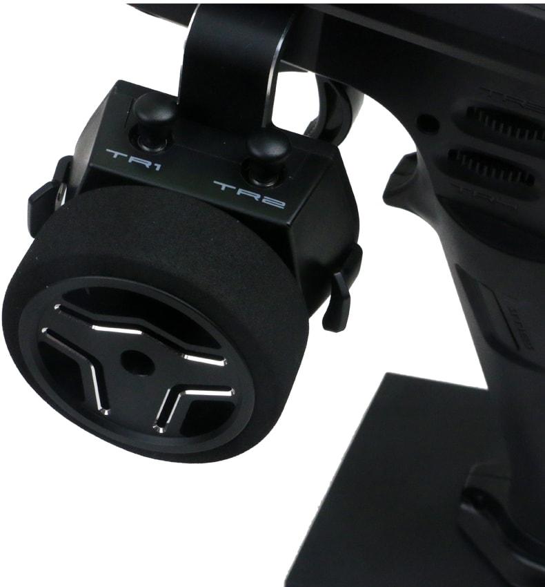 FlySky FS-NB4 Noble - Wheel Closeup