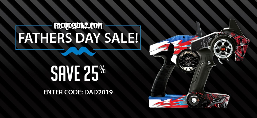 Give Your R/C Rig a Unique Look for Less with Freqeskinz Father's Day Sale