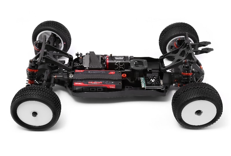 HB Racing D418 Competition Buggy Kit - Chassis Side