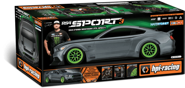HPI 2015 Ford Mustang RTR Spec 5 RS4 Sport 3 Box