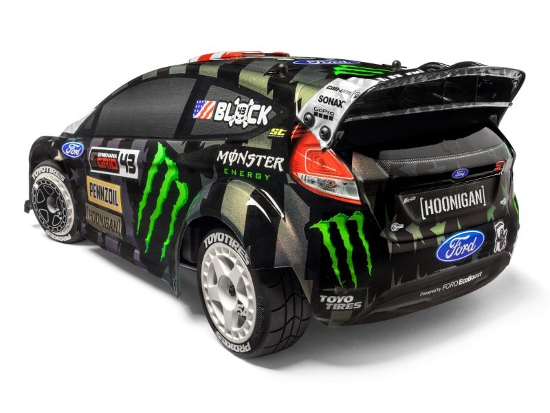 HPI WR8 Flux Ken Block Gymkhana Ford Fiesta - Rear