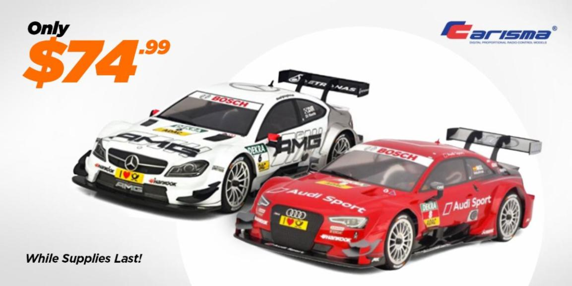 Get Building with this Amazing Deal on Carisma's M40S On-road Kit
