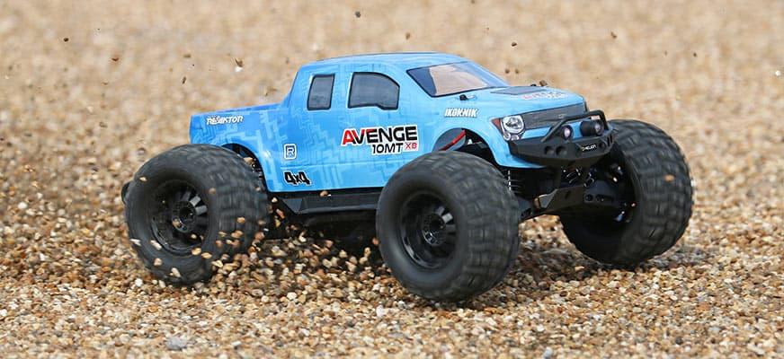 Helion Avenge 10MT XB RC Monster Truck - Outside