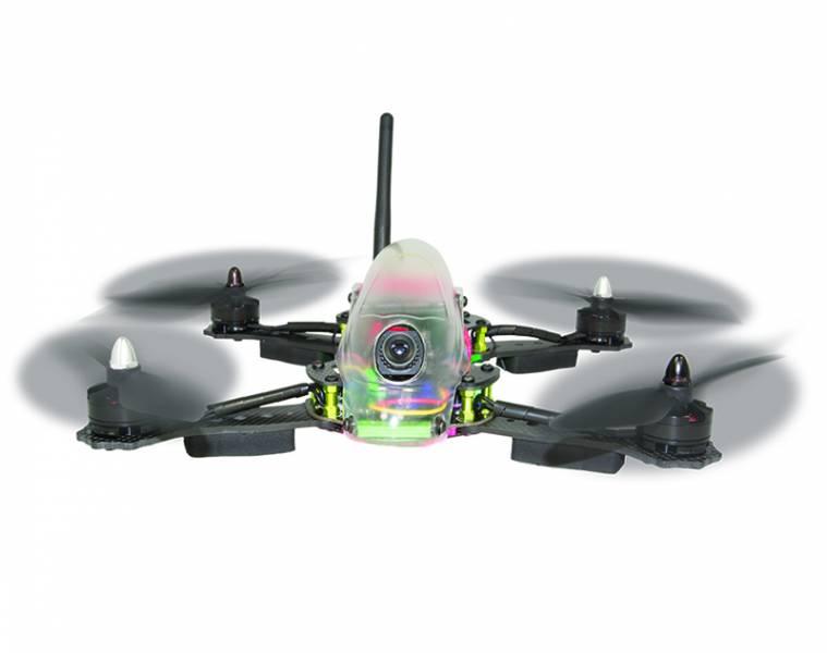 Hitec's Vektor 280 FPV Racing Quadcopter