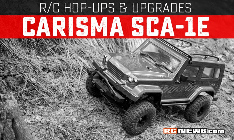Upgrades and Hop-ups for the Carisma Scale Adventure SCA-1E