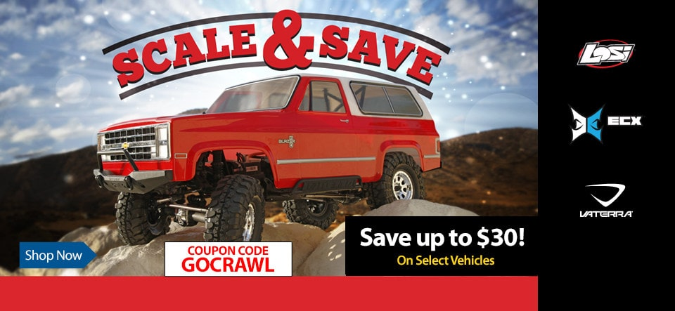 """Hit the Trail for Less During Horizon Hobby's """"Scale & Save"""" Sale"""