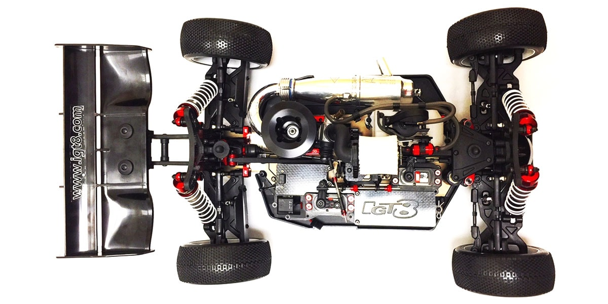 IGT8 B8 Nitro Competition Buggy - Chassis Top