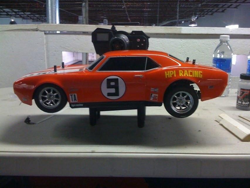 Fixing On-road R/C Racing