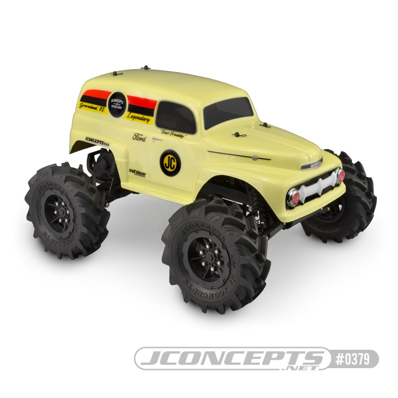 JConcepts 1951 Ford Panel Truck R/C Monster Truck Body