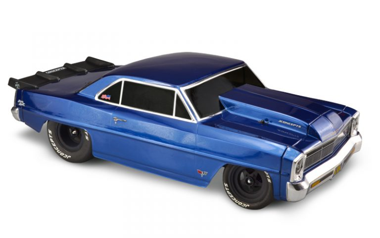 Set the Dragstrip Ablaze with this '66 Chevy II Nova Body from JConcepts