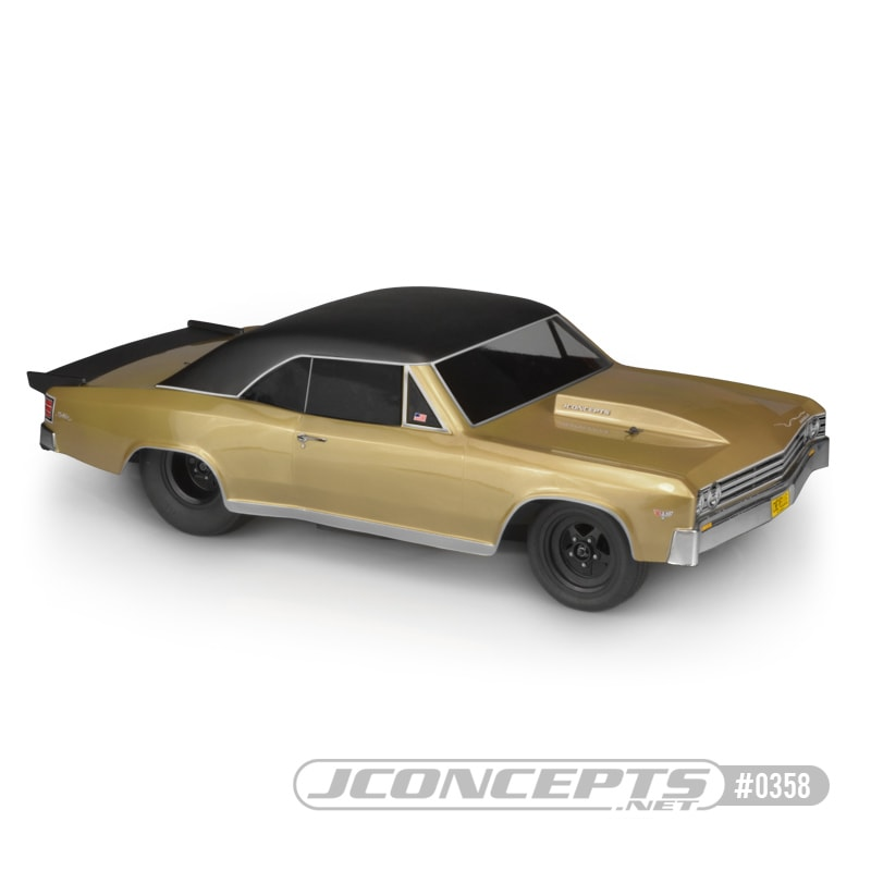 A Cool Cruiser: JConcepts 1967 Chevy Chevelle Body
