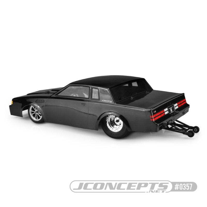 JConcepts 1987 Buick Grand National Street Eliminator RC Dragster Body - Rear