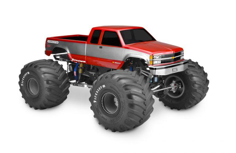 JConcepts '88 Chevy Silverado Monster Truck Body