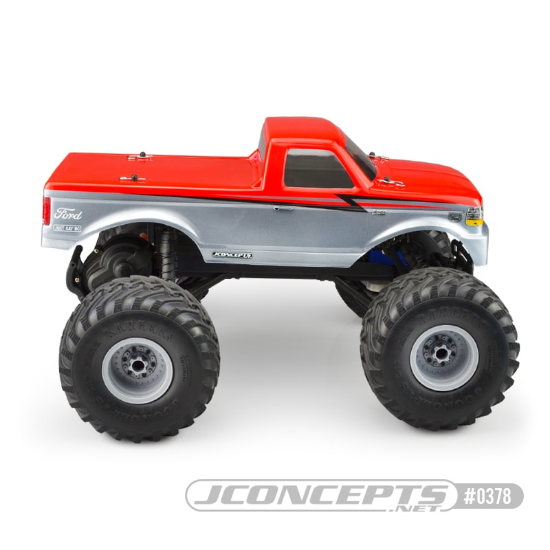 JConcepts 1993 Ford F-250 Body for the Traxxas Stampede - Side