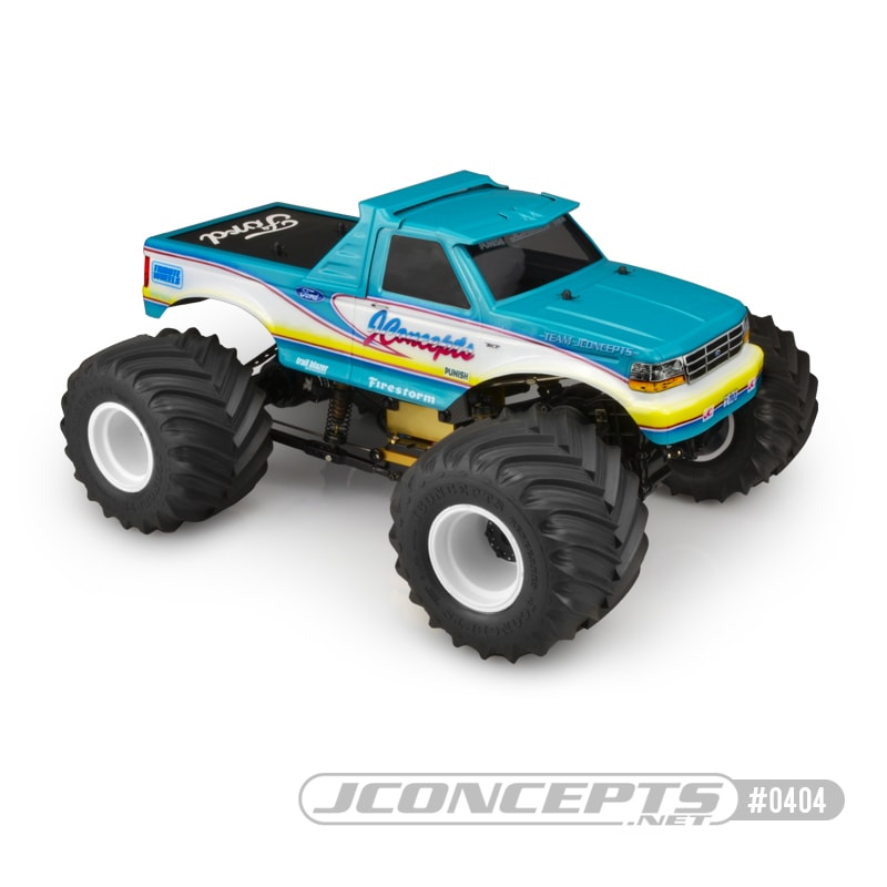 A Retro Rumbler: JConcepts 1993 Ford F-250 Monster Truck Body